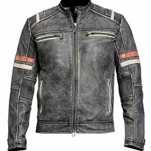 Will Ferrell Cafe Racer Leather Jacket