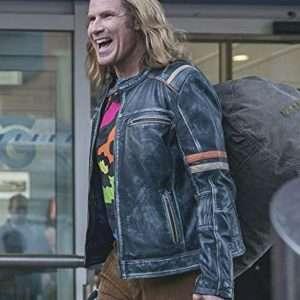 Lars Erickssong Cafe Racer Leather Jacket