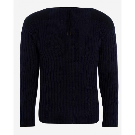 Daniel Craig No Time to Die Blue Sweater